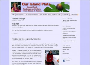 Our Island Plate