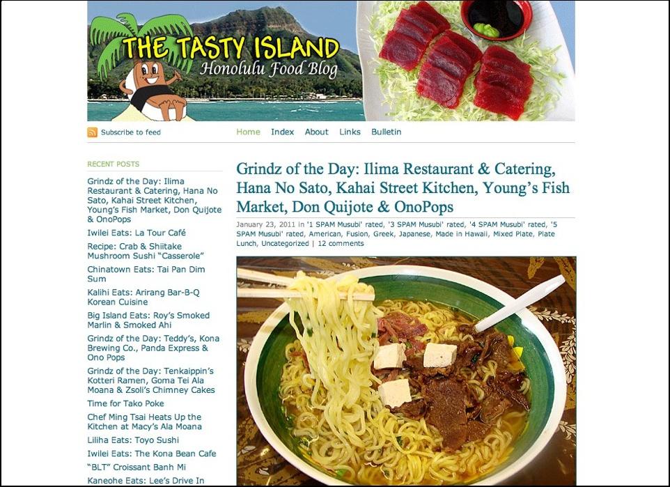 The Tasty Island
